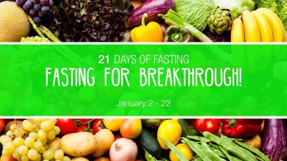 21 Days of Prayer & Fasting | Philippians 3: 12-14